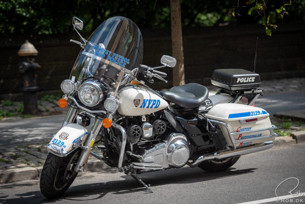 NYPD Motorcykel