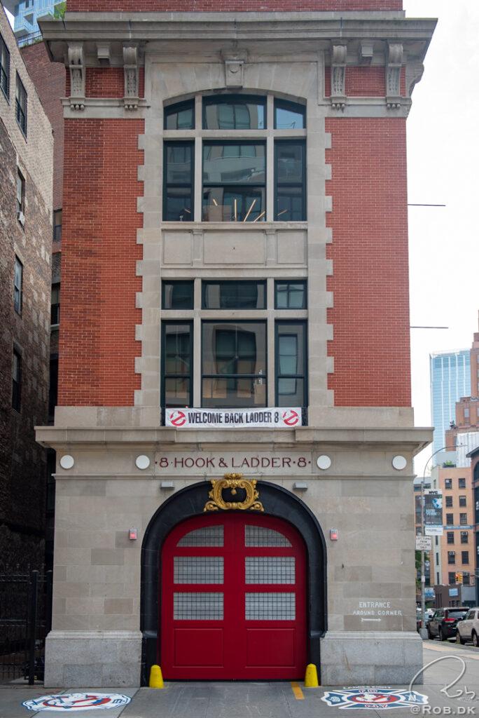 Ghostbuster's Hovedkvarter